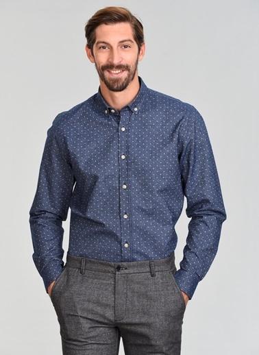 People By Fabrika Gömlek İndigo